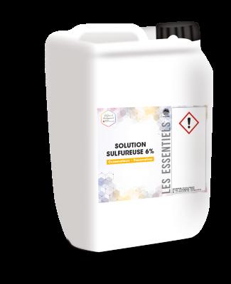 Solution d'anhydride sulfureux à 6% pour le sulfitage des moûts et des vins