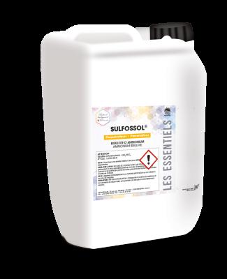 Solution de bisulfite d'ammonium = NH4HS03 Pour le sulfitage des moûts et l'activation des fermentations