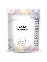 Malic acid is used to acidify wines and musts. It confers freshness to wines